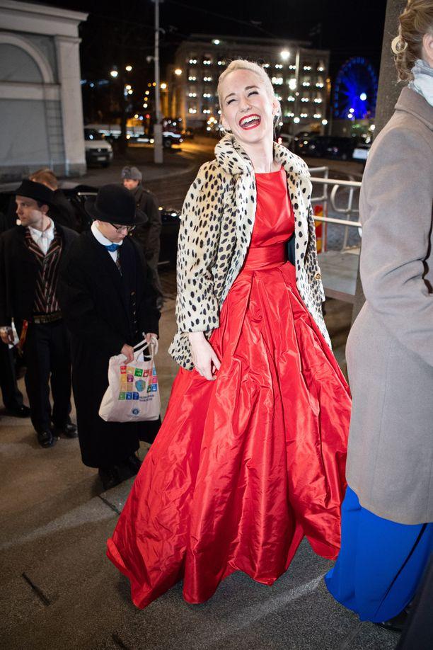 Linda Liukas vietti viime itsenäisyyspäivää Linnan juhlissa.
