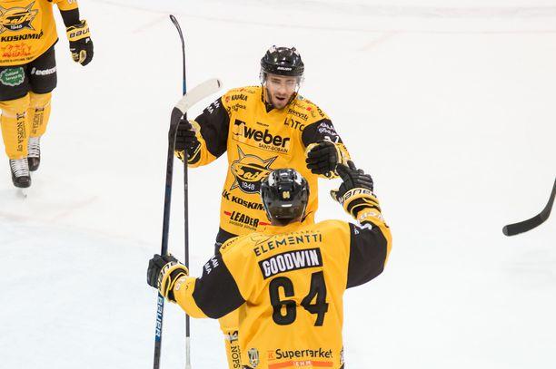 Ahti Oksanen teki SaiPan voittomaalin jatkoajalla.