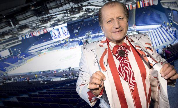 Tami näkyy ja kuuluu jääkiekon MM-kisoissa.