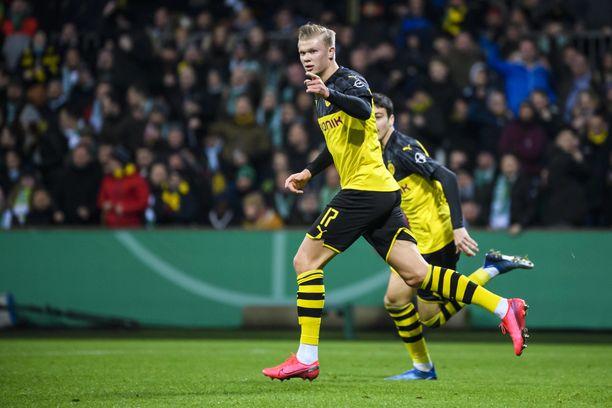 Erling Hålandin tuuletukset sytyttivät PSG:n toiseen osaotteluun.
