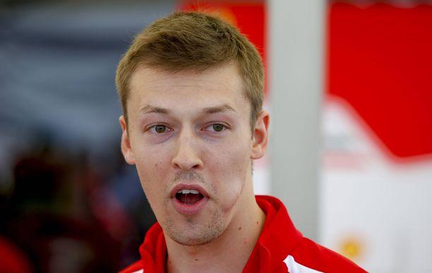 Daniil Kvjat saa uuden mahdollisuuden Red Bullilla.