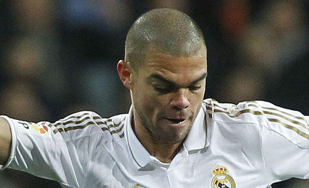 Pepe oli jälleen elementissään.