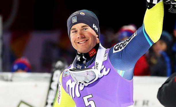Matts Olsson tavoittelee mitalia olympialaisista.