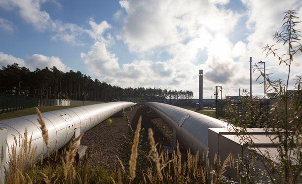 Useat Itämeren alueen maat ovat vastustaneet Nord Stream 2 -kaasuputkihanketta.
