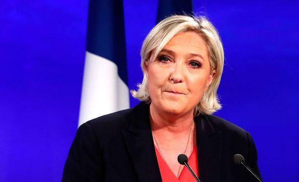 Martin on kannattanut Front Nationalia 18-vuotiaasta saakka. Hän vaimoineen äänesti sunnuntaina Le Peniä.