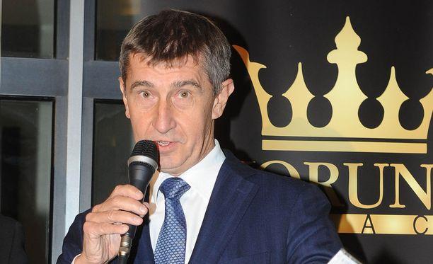 Tshekin parlamenttivaalien yksi ennakkosuosikki on Andrej Babis. Kuvassa miljardööri vuonna 2013.