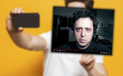 Mies nappasi itsestään päivittäin selfien 20 vuoden ajan – video näyttää melkoisen muutoksen