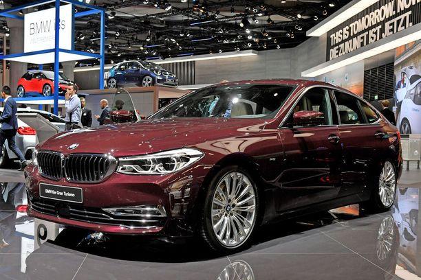 Edeltäjäänsä kookkaampi ja linjakkaampi. BMW 6-sarjan GT.