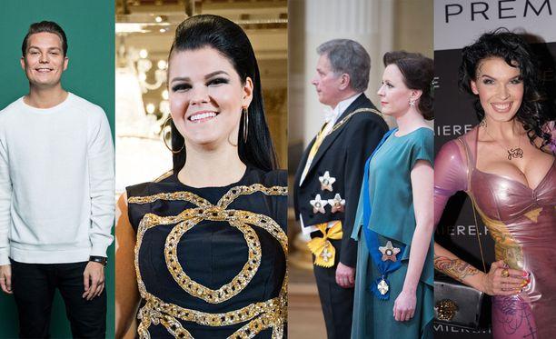Cheek lopettaa, Saara Aalto lähtee Euroviisuihin, presidenttipari odottaa perheenlisäystä ja Sini Ariellista tuli äiti.