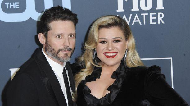 Brandon Blackstockilla ja Kelly Clarksonilla on kaksi yhteistä lasta.