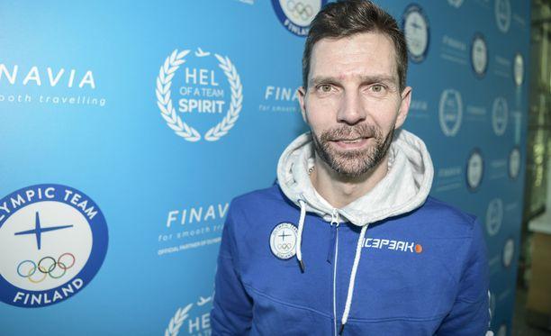 Janne Ahonen osallistuu uransa seitsemänsiin olympialaisiin.