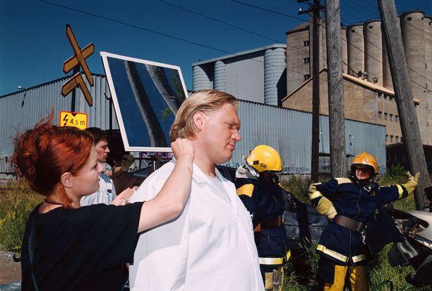 Iltalehti oli mukana seuraamassa elokuvan kuvauksia heinäkuussa 1999 Turussa.
