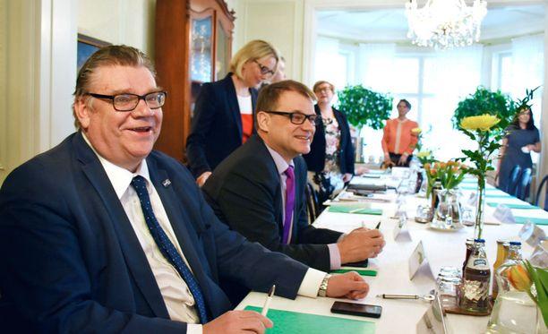 """Pääministeri Juha Sipilän (kesk) mukaan hallitus aikoo rakentaa sote-uudistuksen avulla """"maailman parhaan systeemin""""."""