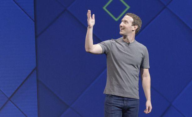Facebookin toimitusjohtaja Mark Zuckerberg F8-tapahtumassa.
