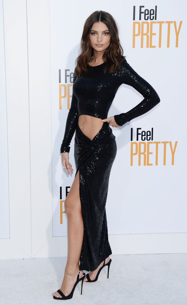 Emily Ratajkowski näyttelee Amy Schumerin tähdittämässä I Feel Pretty -elokuvassa, joka sai Suomessa ensi-iltansa viime viikolla.