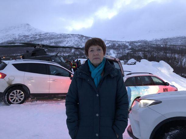 Paatsivuonon eli Balsfjordin kunnanjohtaja Gunda Johansen.