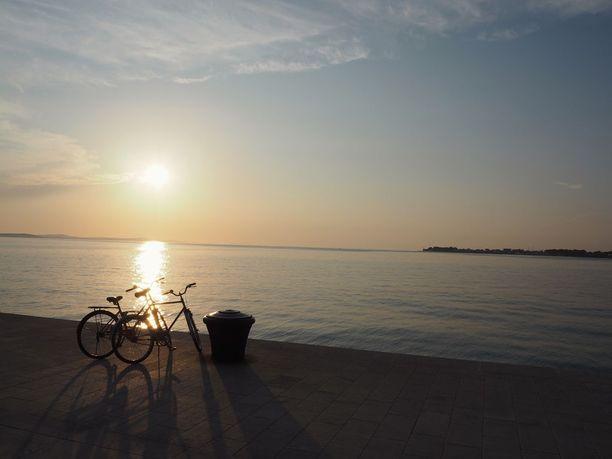 Zadarin auringonlaskujen kauneus hurmasi Alfred Hitchcockin.
