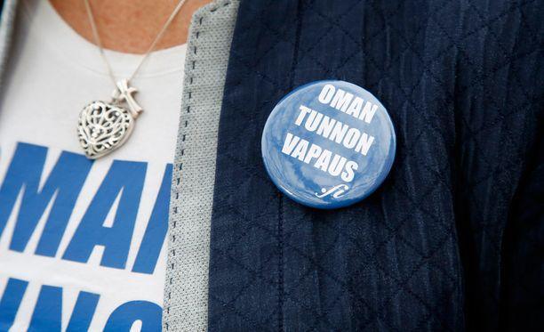 Kansanedustaja Sari Tanus toimi lakialoitteen vireille panijana.