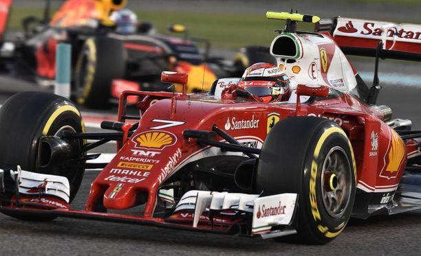 Kimi Räikkönen ajoi päätösosakilpailussa kuudenneksi.