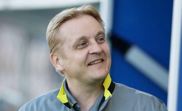 Jarkko Wiss oli hyvillään Ilveksen pelistä. Arkistokuva.