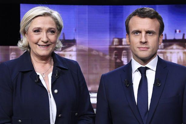 Marine Le Pen ja Emmanuel Macron ovat ehdolla Ranskan seuraavaksi presidentiksi. Vaalien toinen kierros järjestetään sunnuntaina.
