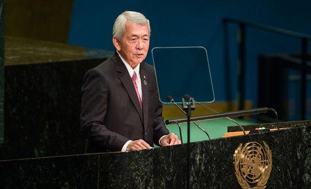 Filippiinien ulkoministeri Perfecto Yasay.