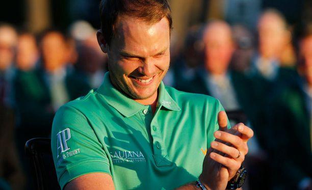 Danny Willett on Masters-voittaja.