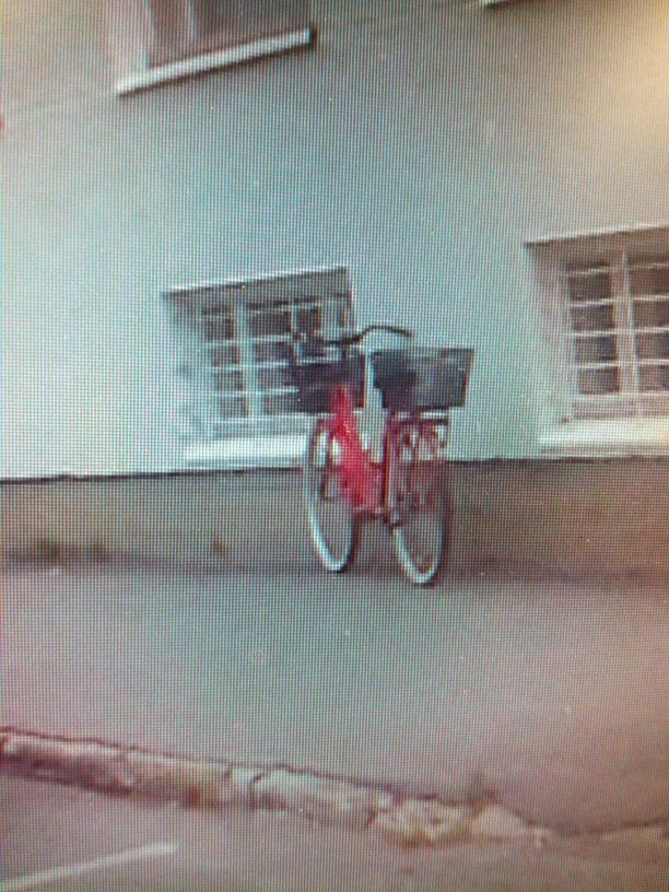 Tällä pyörällä Kemin ryöstäjä oli saapunut paikalle.