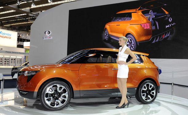 Frankfurtin autonäyttelyssä oli esillä SsangYonin uusin näkemys katumaasturista - XIV-1.