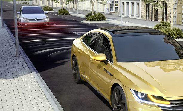 Volkswagen Arteon sijoittuu mallistossa Passatin yläpuolelle.