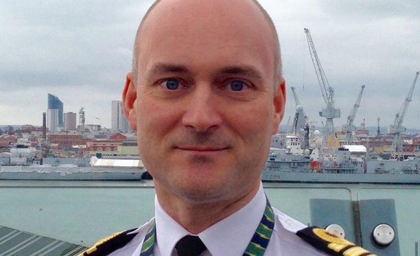 Komentaja Peter Pipkin on vastuussa laivaston erilaisista robottihankkeista.