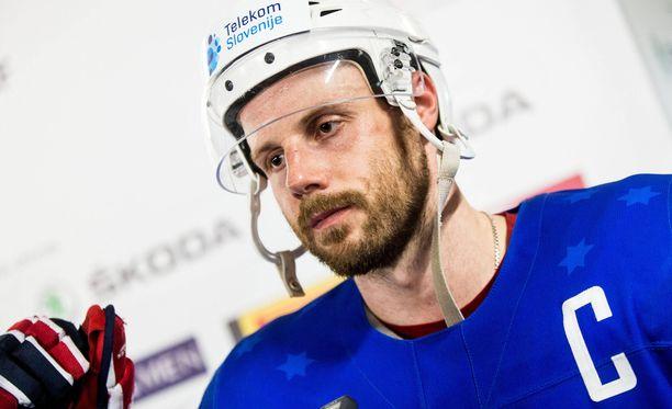 Jan Mursakilla on NHL-kokemusta 46 ottelun verran Detroitista.