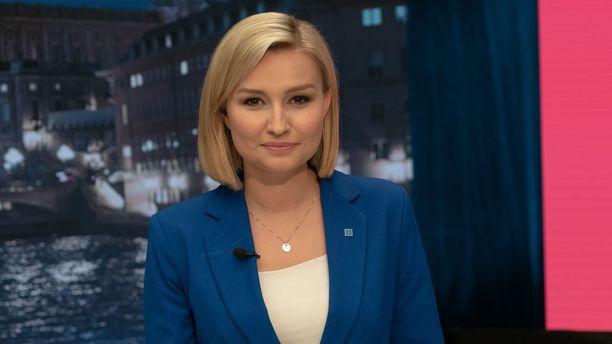 Ebba Busch Thor onnistui saamaan hyvän loppukirin vaaleihin ja nostettua kristillisdemokraattien kannatusta.