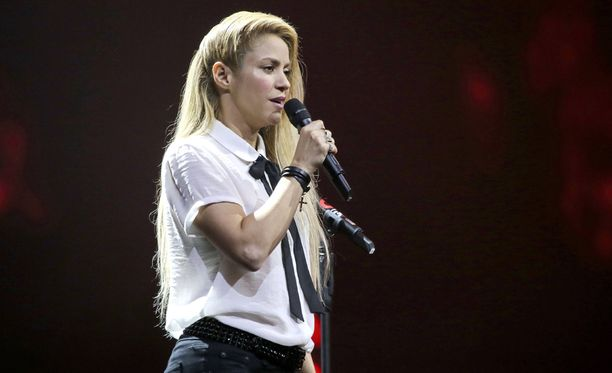 40-vuotias Shakira on syntyjään kolumbialainen.
