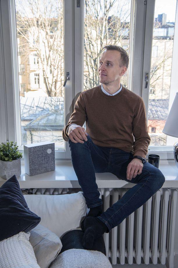Joonatan Voltin tuorein Airbnb-vuokrakohde on 33 neliön asunto Helsingin kantakaupungissa.