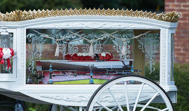 Loweryn arkkua koristi Sunderlandin kotistadionin Stadium of Lightin kuva.