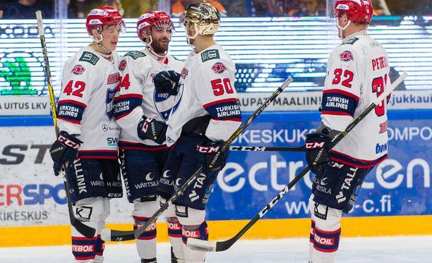 HIFK juhli Tampereella sarjan avausvoittoa.