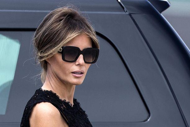 Melania Trump edustaa usein miehensä rinnalla erilaisissa tilaisuuksissa.