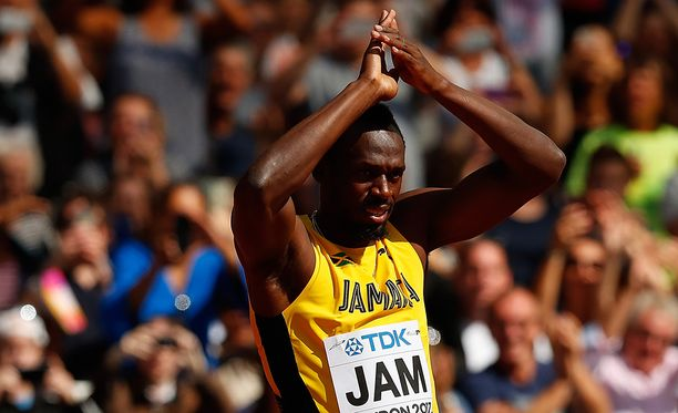 Usain Boltin ura päättyi pettymykseen.