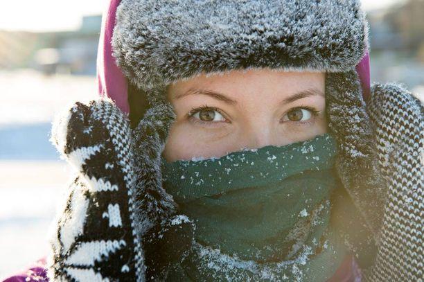 Kunnon talvivaatteille on käyttöä myös alkavalla viikolla.