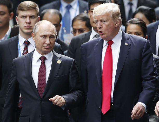 Trumpin ja Putinin todelliset välit ovat jääneet mysteeriksi.