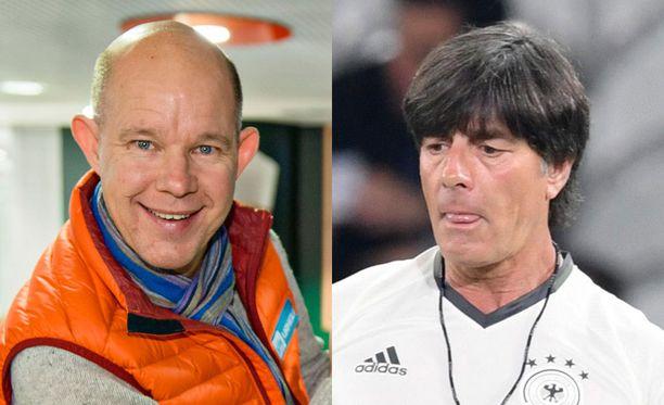 Kaj Kunnas ja Joachim Löw