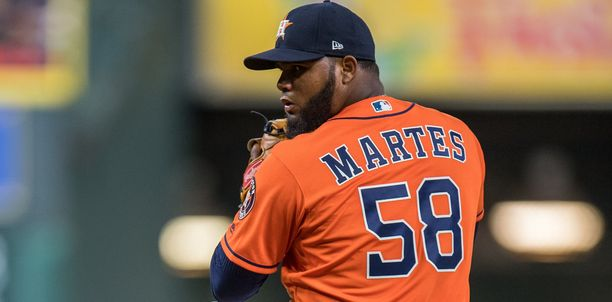 Houston Astrosin syöttäjä Francis Martes sai 162 ottelun pelikiellon.