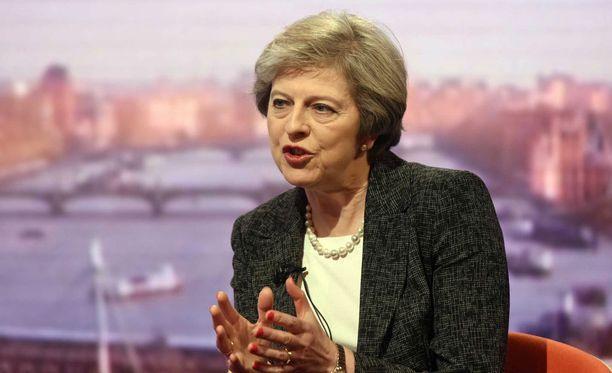 Britannian pääministeri Theresa May vierailee perjantaina Valkoisessa talopssa.