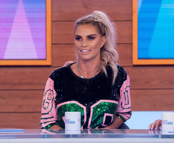 Katie PriceKatie Price announces her engagement to Kris Boyson exclusively on today's Loose Women.