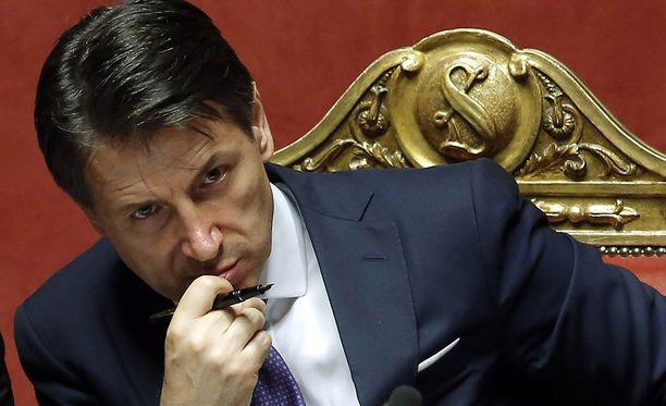 Giuseppe Conte on Italian uusi pääministeri.