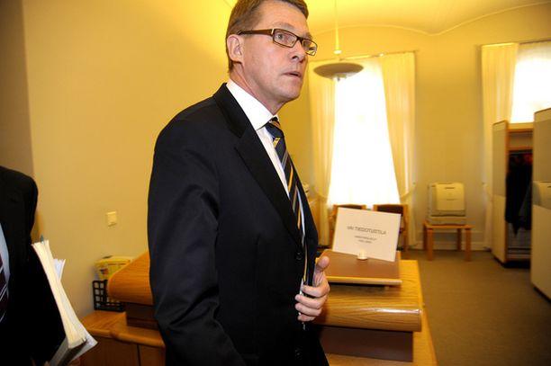 Pääministeri Matti Vanhanen kommentoi kuvavarkautta perjantaina valtioneuvostossa.