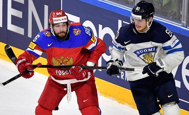 Venäjä ja Suomi taistelevat pronssimitalista.
