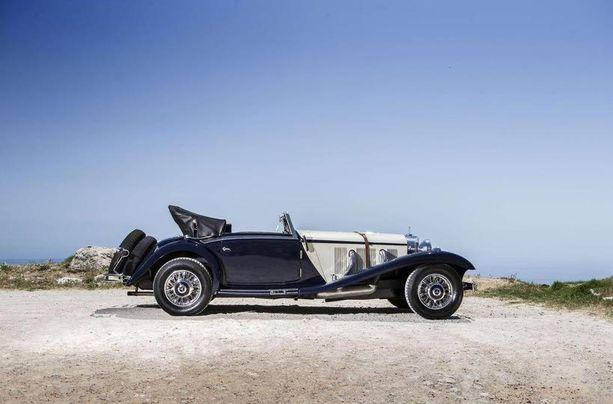 Vuosimallin 1936 Mercedes-Benz 540 K Cabriolet A -autosta tarjottiin Stuttgartin huutokaupassa selkeästi toiseksi korkein hinta: 2,2 miljoonaa euroa.