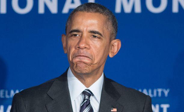 Presidentti Barack Obama lähetti tylyn viestin Isisille.